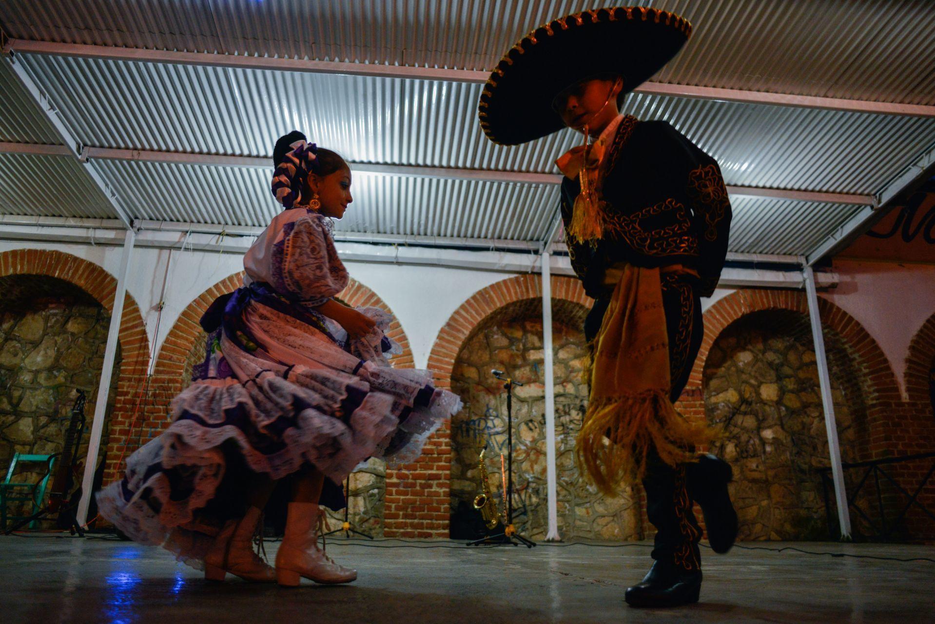 Baile Tipici mexicano/Foto:cuartoscuro