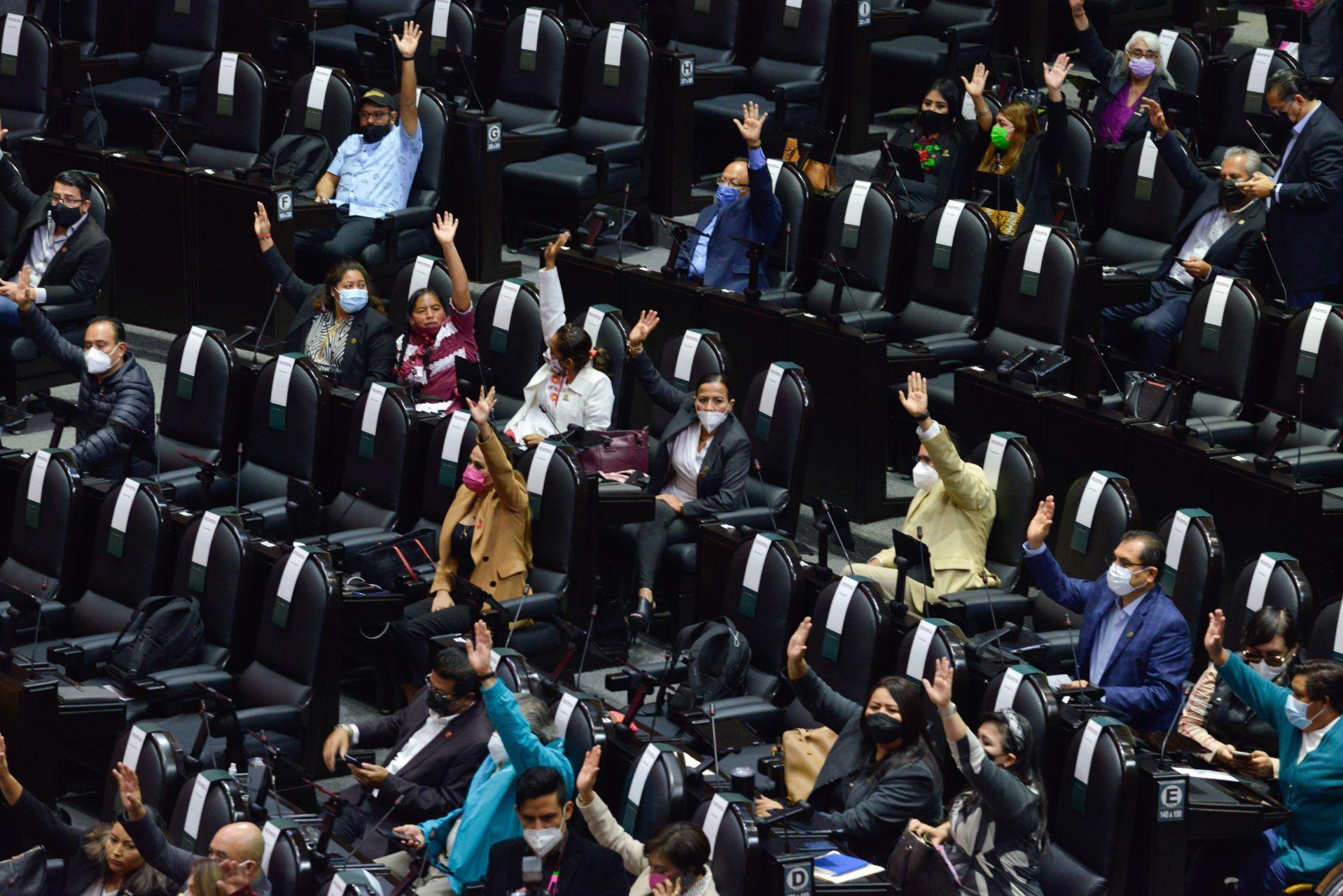 Sesión ordinaria semipresencial de la Cámara de Diputados/Foto: cuartoscuro