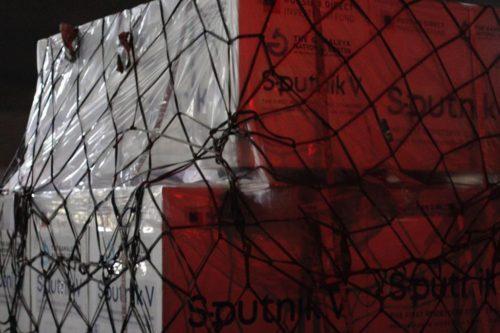 embarque de vacuna covid sputnik v