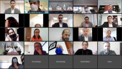 Reunión del IMSS con padres y madres de niños con cáncer