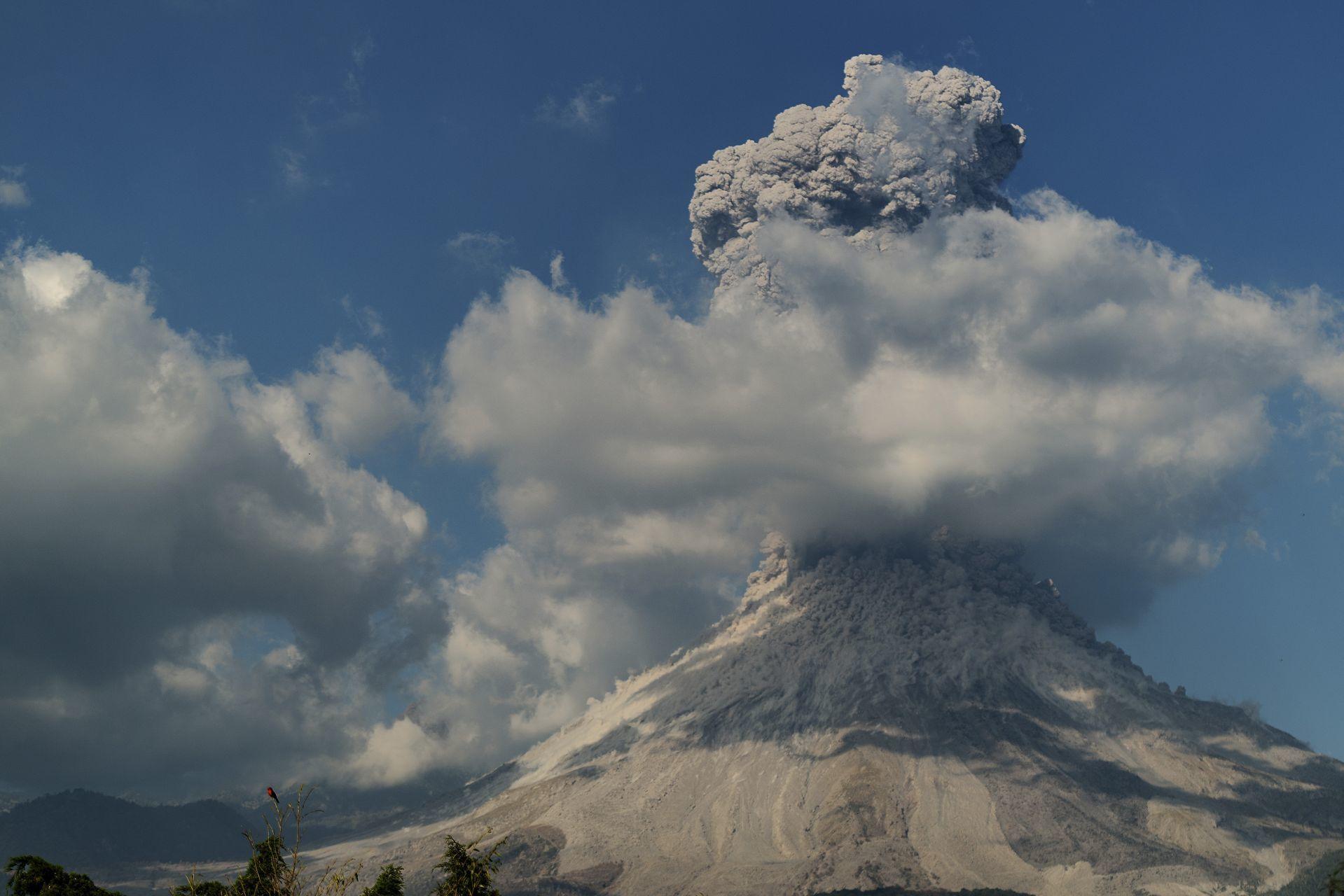 El Volcán de Colima/Foto:cuartoscuro