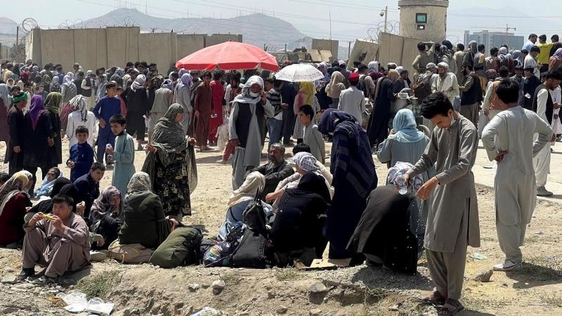 Pueblo de Afganistán