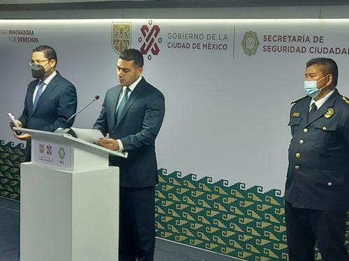 Omar García Harfuch.