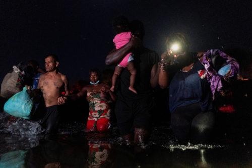 Violencia contra migrantes haitianos.