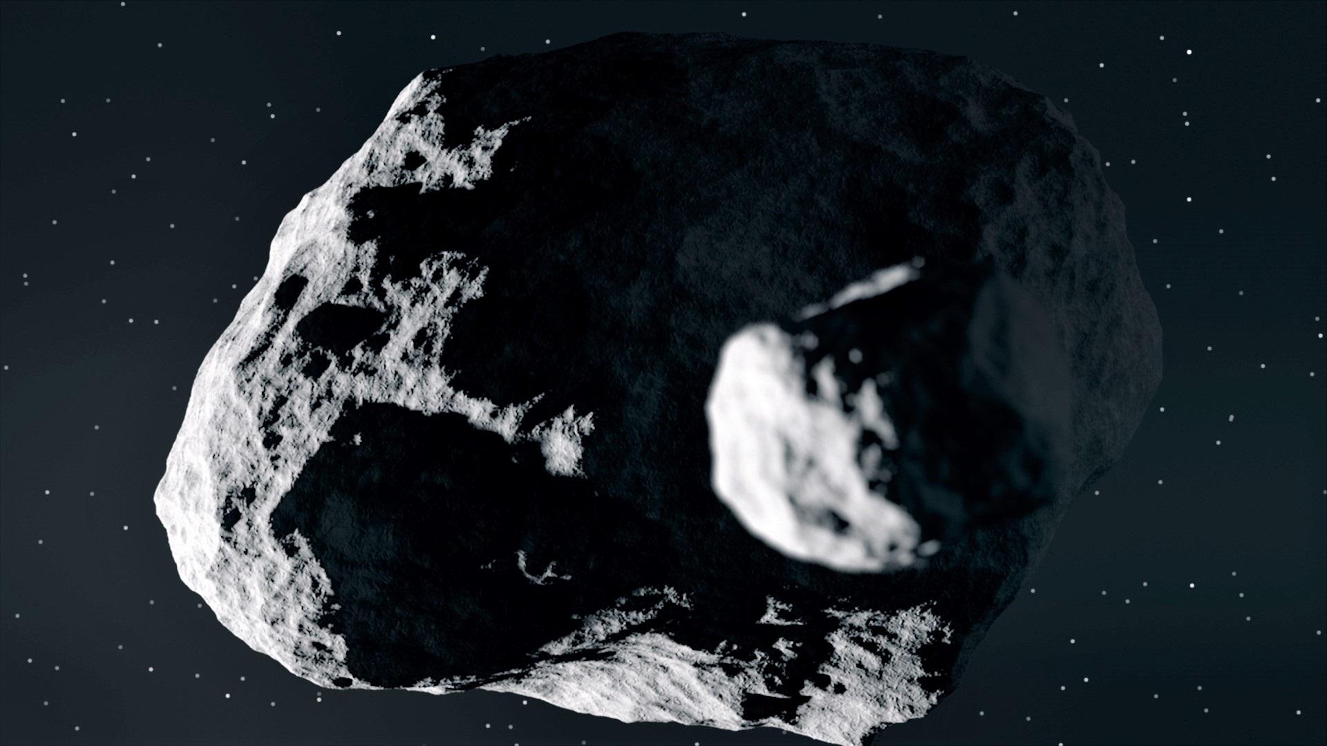 'Dimorphos', nombre oficial del asteroide más pequeño del sistema Didymos/Foto:Europa Press