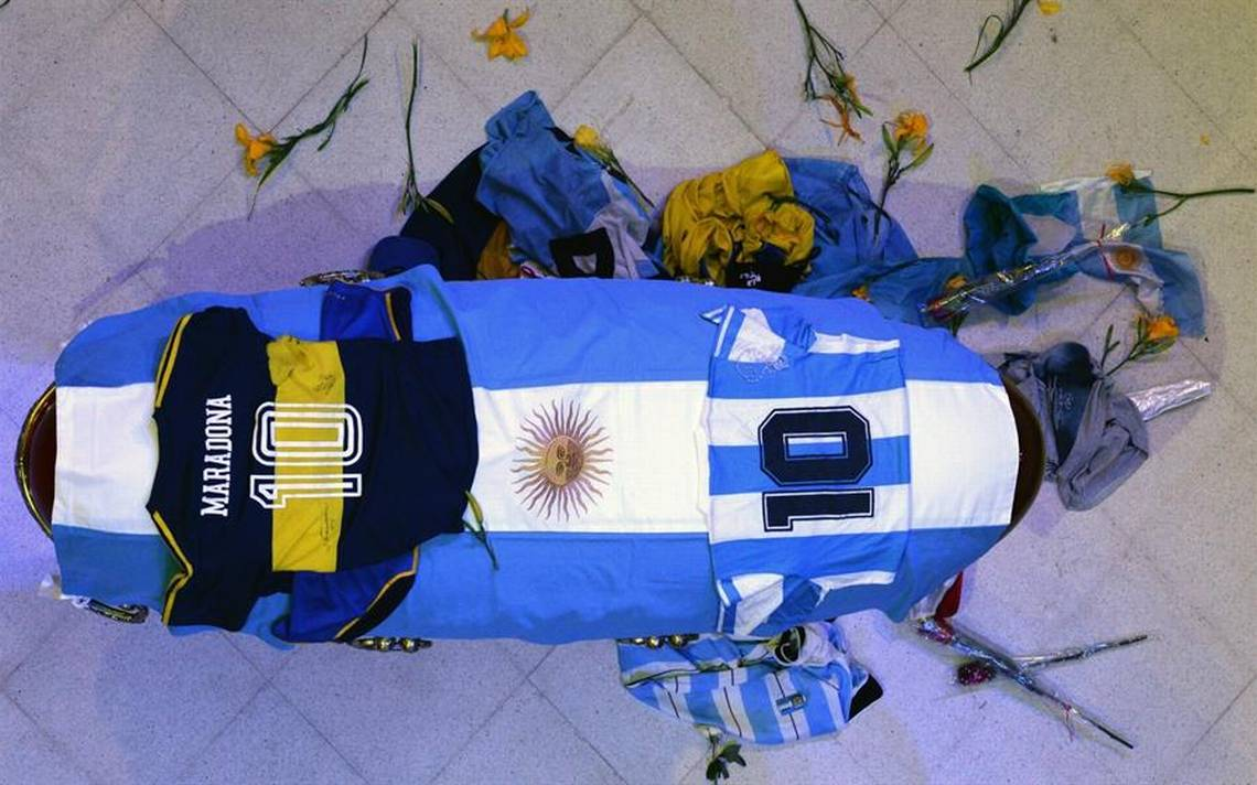Muerte de Maradona