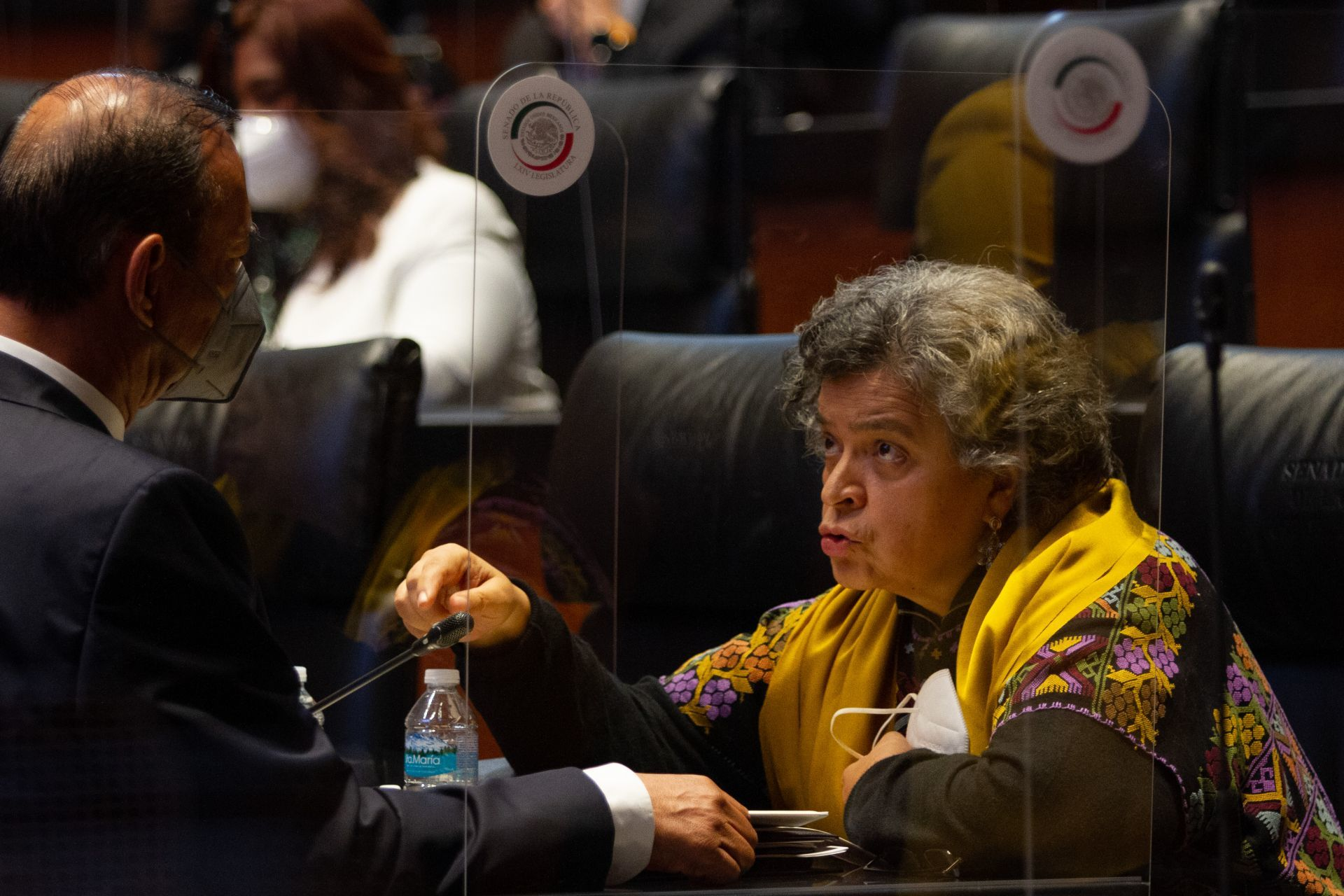 La senadora Beatriz Paredes/Foto:cuartoscuro