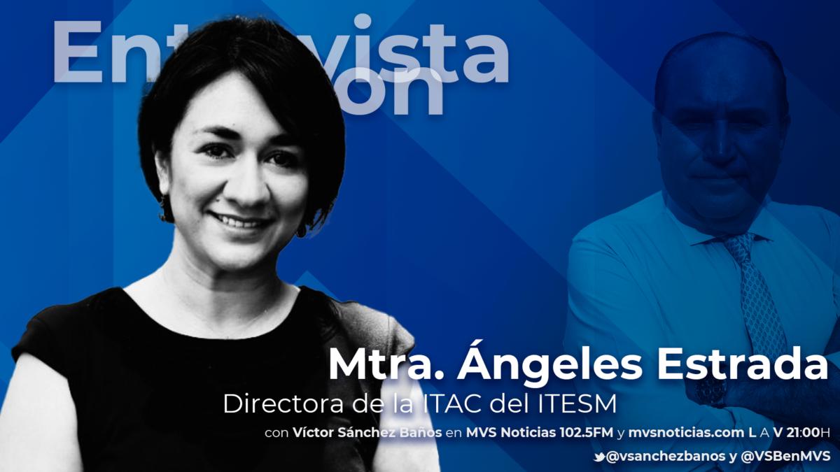 Maestra Ángeles Estrada / Ilustración