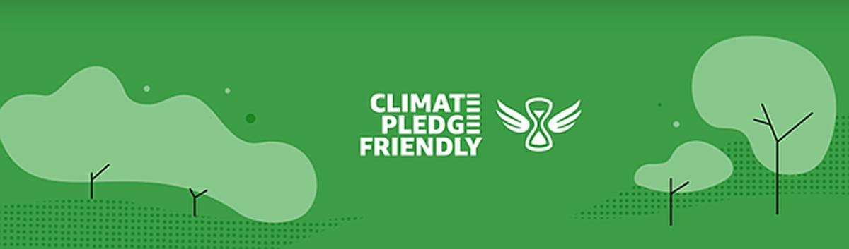 Amazon's Climate Pledge Friendly logo