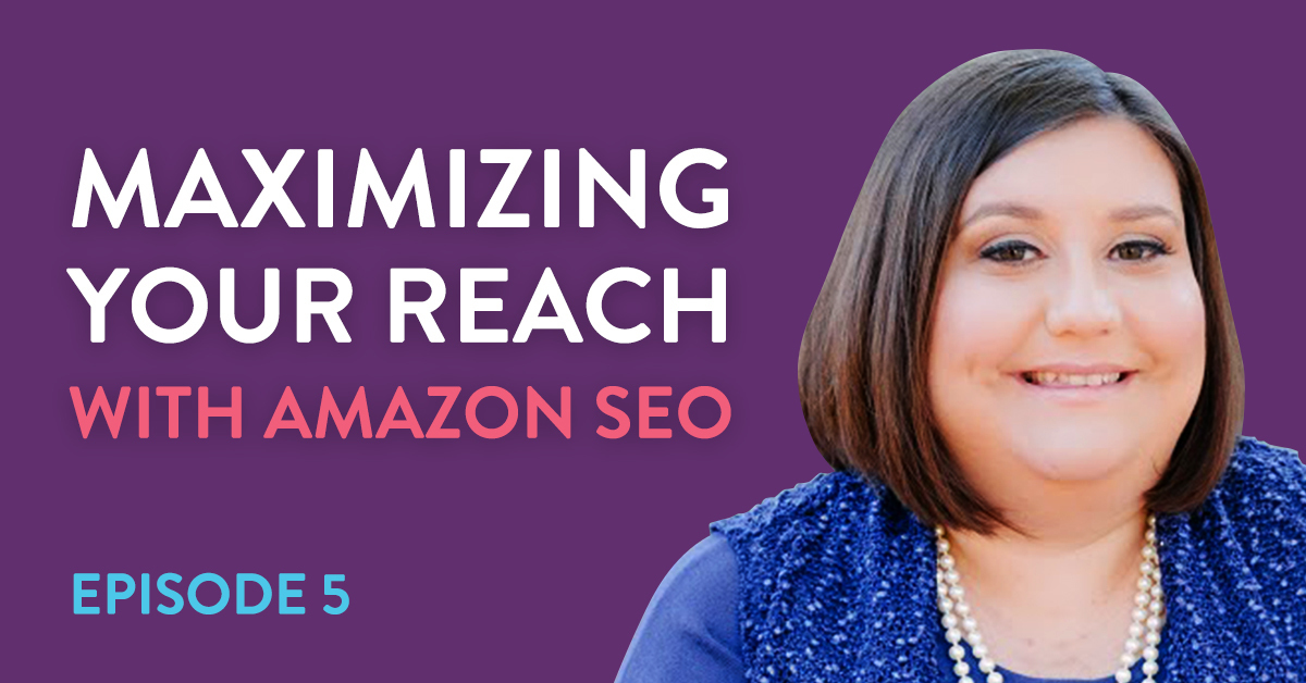 Robyn Johnson shares Amazon listing optimization strategies