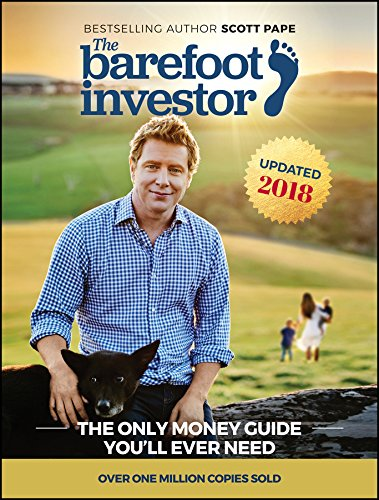 Cover of most searched book in Australia was Barefoot Investor by Scott Pape
