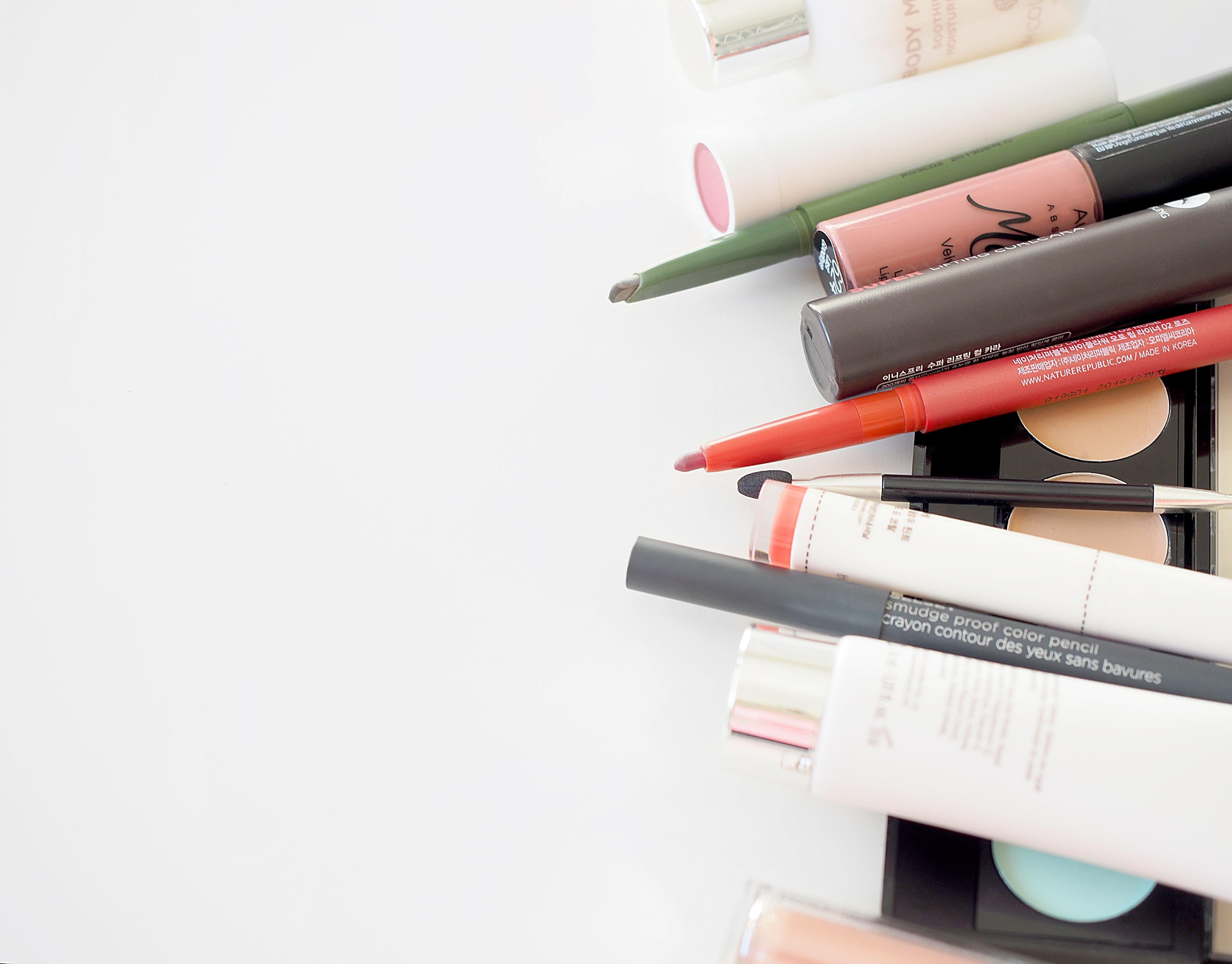 Ladies cosmetics products