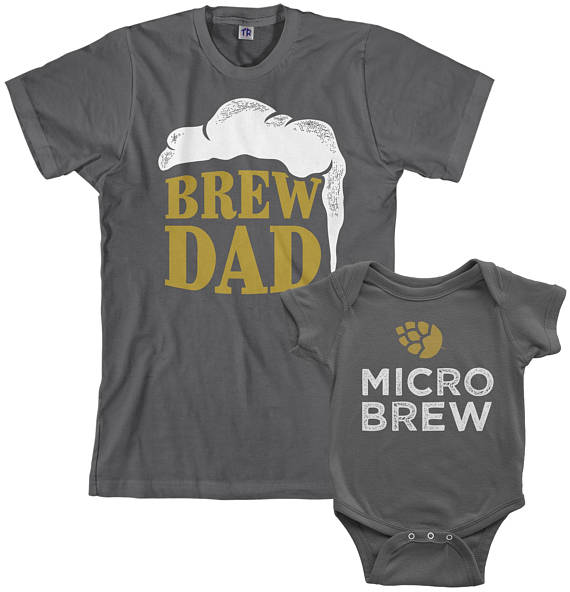 Brew Dad t-shirt set