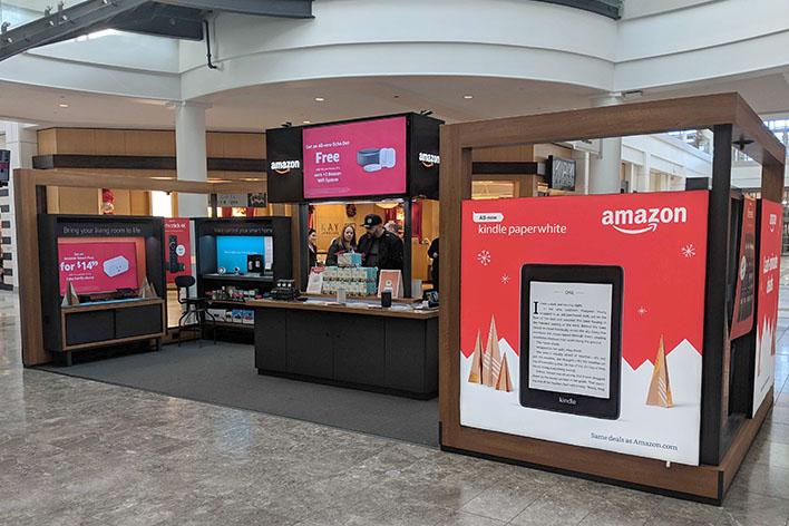 Amazon pop-up stores