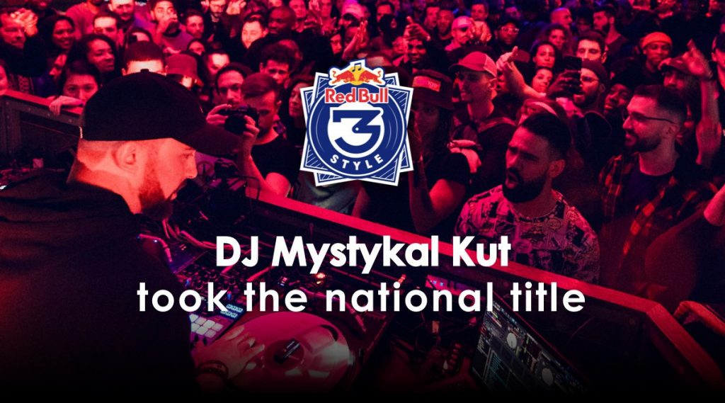 DJ Mystykal Kut winner of Red Bull 3Style France with Phase