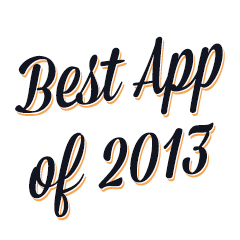 Play Store 2013 award logo