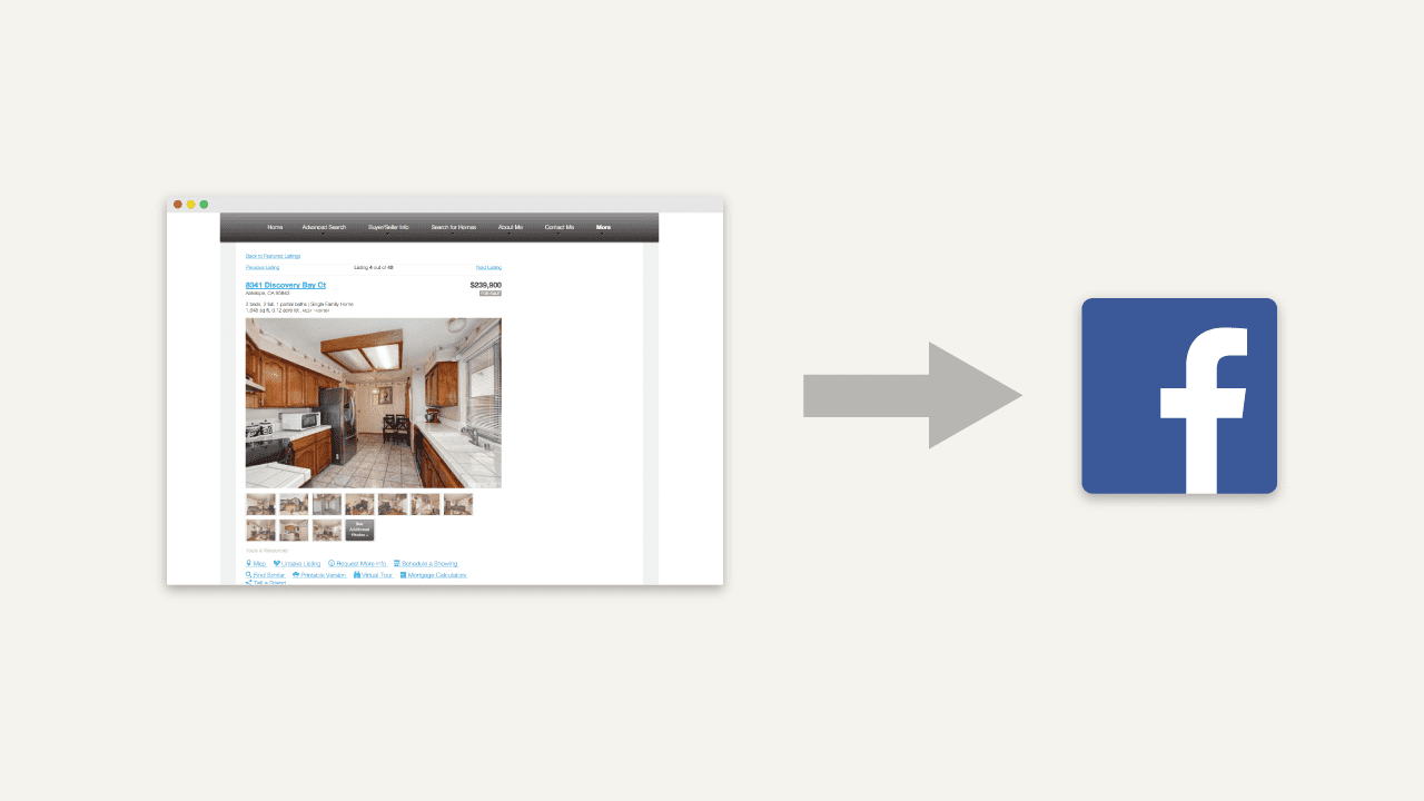 Announcing Auto-Post Your Listings To Facebook