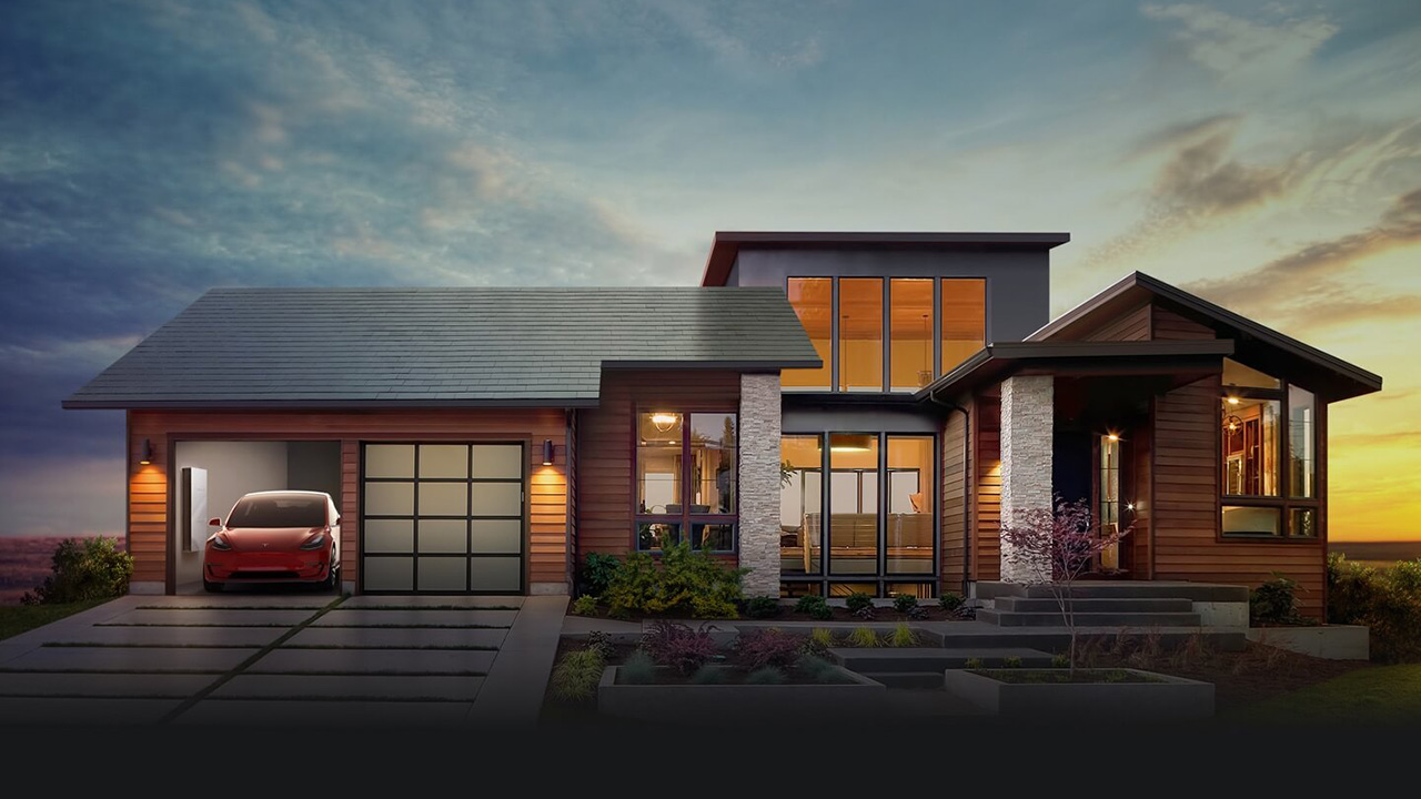 Tesla's New Solar Panel Roofing Tiles