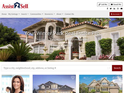 Assist 2 Sell website design three