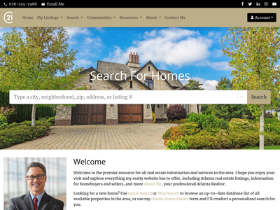 Century 21 website design one