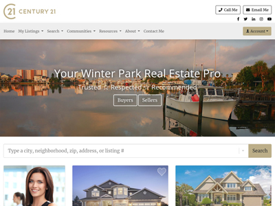Century 21 website design three