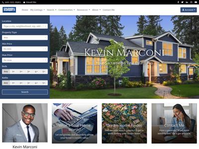 Coldwell Banker website design two