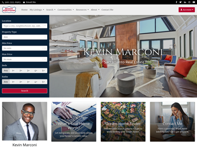 Realty Executives website design two