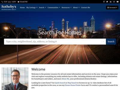 Sotheby's website design one