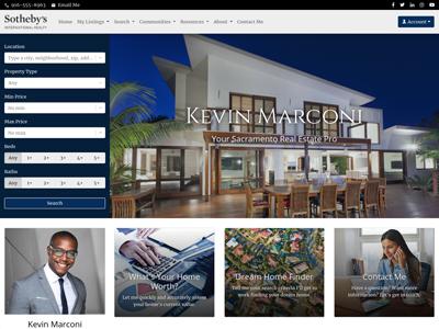 Sotheby's website design two