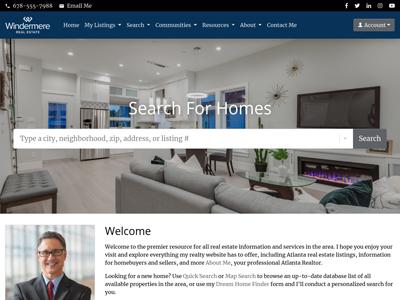 Windermere website design one