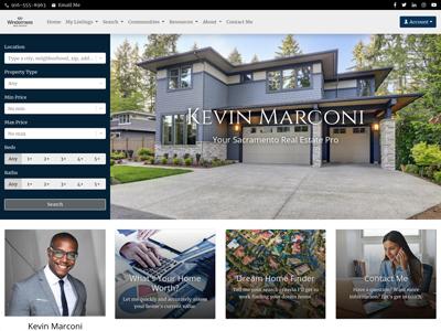 Windermere website design two