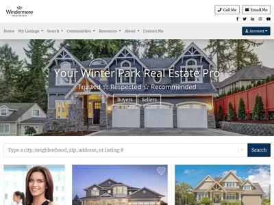 Windermere website design three
