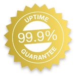 reliable service uptime seal
