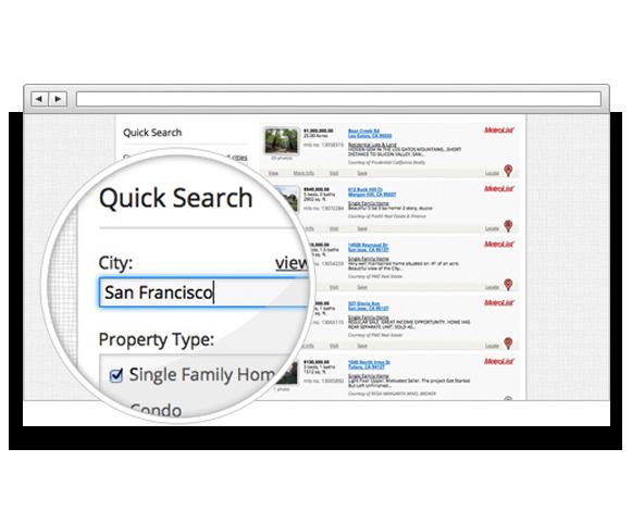Beautiful iHOUSEweb IDXpro Website Design.