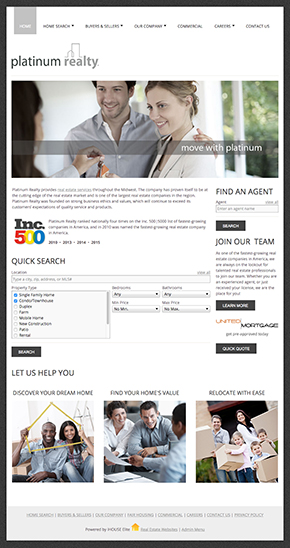 iHOUSEweb Real Estate Websites