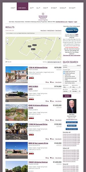 iHOUSEweb Real Estate Websites