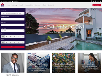 ERA Real Estate agent website