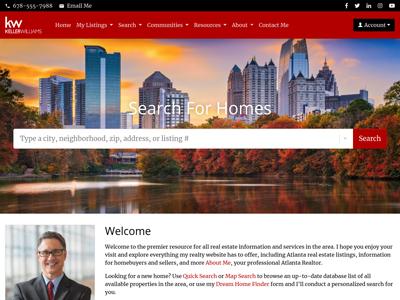 Keller Williams agent website
