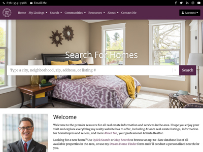 Berkshire Hathaway HomeServices agent website