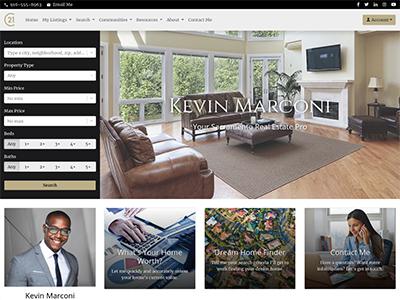 Century 21 agent website