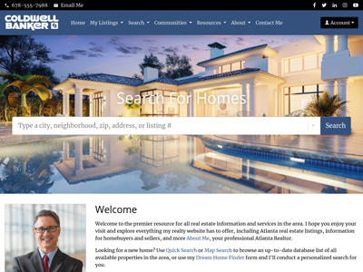 Coldwell Banker agent website