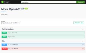 Dockerで簡単にSwagger環境を作る