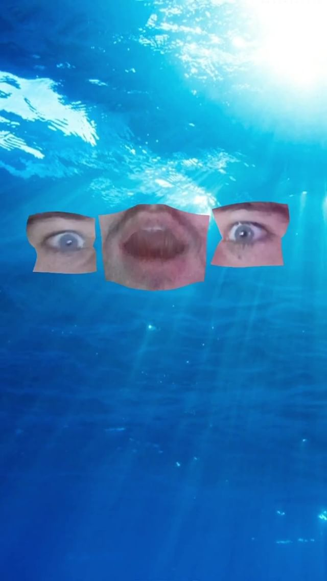 Instagram filter Sea Monster