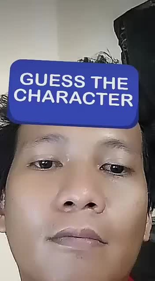 Instagram filter GUESS CHARACTER