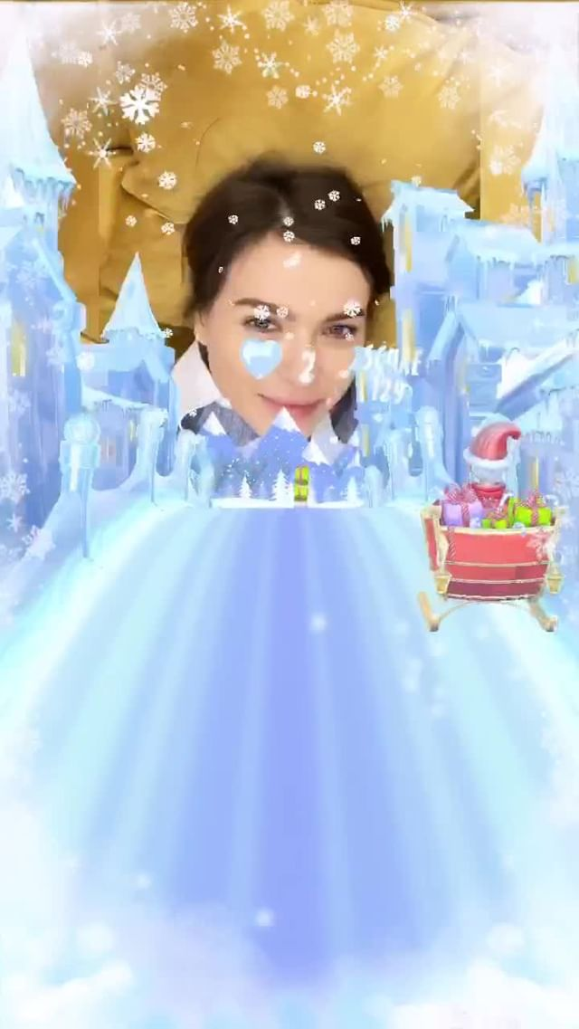 Instagram filter Ice Runner AR Game