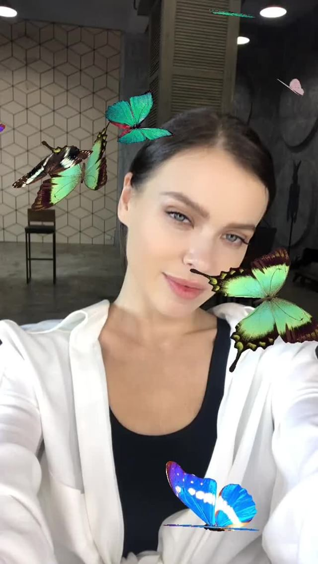 Instagram filter Butterfly