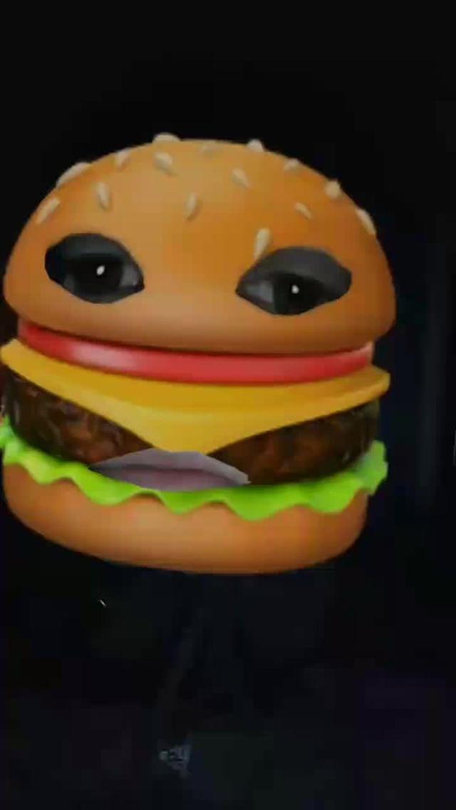 Instagram filter (っ◔◡◔)っburger