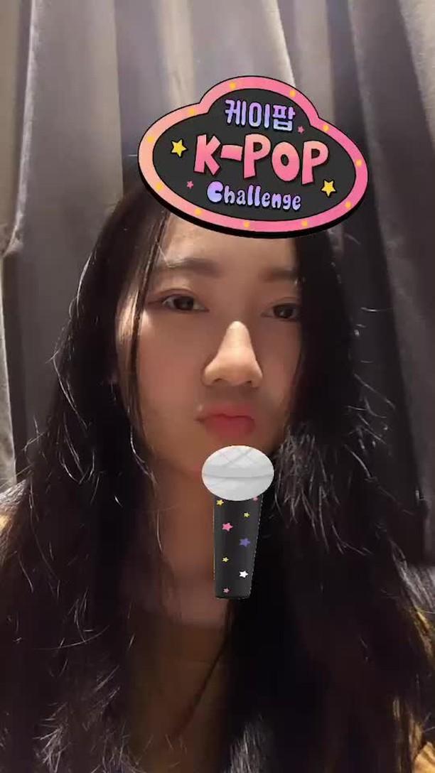 klandth Instagram filter Kpop Challenge