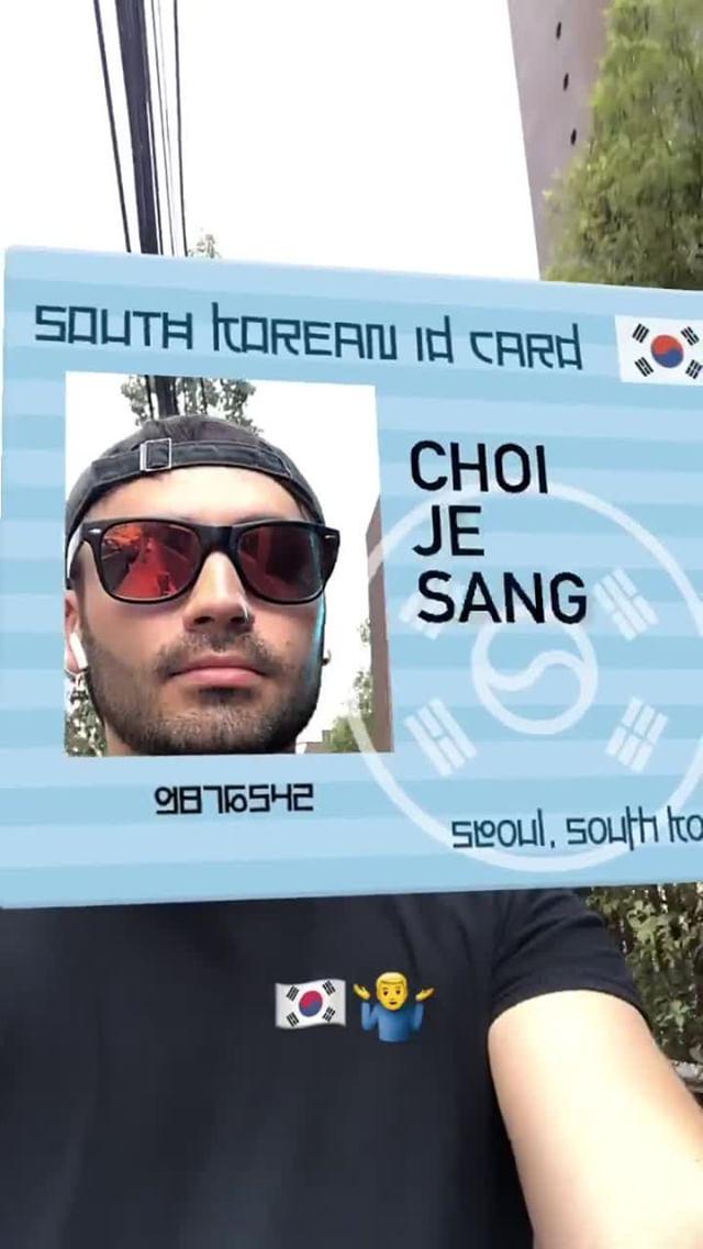 Instagram filter Your Korean Name