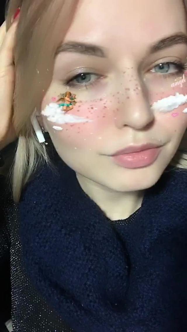 mikhalinakris Instagram filter  love angel / АНГЕЛ